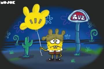 sisi gelap spongebob bikini bottom bikini atoll lobster crap resep rahasia squidward bunuh diri spongebob agoraphobia gangguan kecemasan rock bottom spongebob tersesat patrick gay LGBT mojok.co