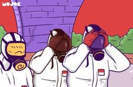 Indonesia Positif Corona Nih, Ayo Kerja Sama atau Ambyar Sama-sama