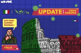 Surat dari Roma Italia untuk Indonesia yang Baru Melawan Corona