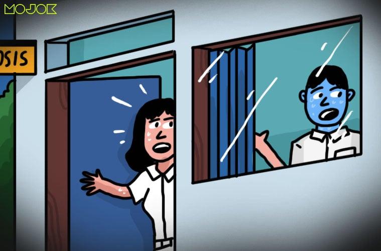 Karma: Ketika Kunci Disembunyikan Sosok Cantik Penunggu Ruang Osis kuntilanak MOJOK.CO