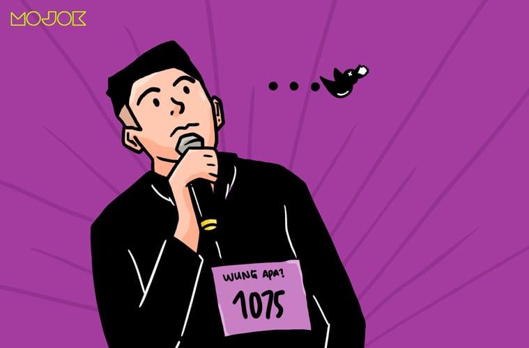 wung ape tu man? wung puyo video audisi raja lawak malaysia burung puyuh anak alay pesen makan ayam goyeng anti jokes garing jokes jayus guyonan nggak lucu cringe mojok.co
