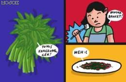 pengolahan makanan ciri orang nggak bisa masak chef arnold hobi masak gagal masak nasi masak sayur kempes mojok.co
