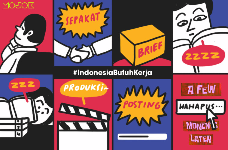 Tolong Ya yang Ngepost #IndonesiaButuhKerja, Kalau Mau Endorse RUU Cipta Kerja Coba Unboxing Dulu
