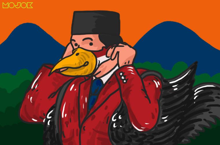 Bercita-cita Jadi Jokowi, Bang Jago Paling Ultimate Sejagat Raya