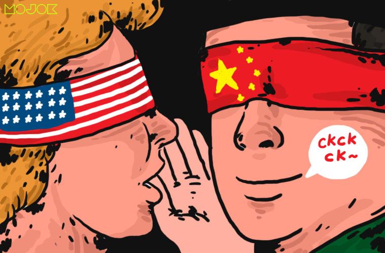 Cara NU Dikompori Amerika supaya Benci Cina