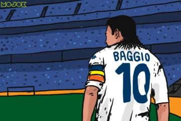 Roberto Baggio, Kilatan Vajra Sang Buddha, dan Kenangan Un Bellissimo Arcobaleno Curvo MOJOK.CO