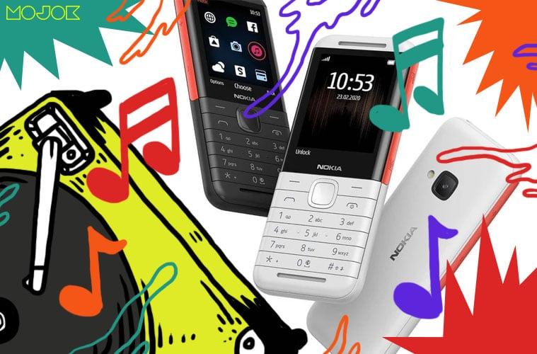 Nokia 5310 XpressMusic Berisi Lagu-lagu Bajakan Warnet Paling Populer dan Keyboard Sekeras Papan Parutan Kelapa MOJOK.CO