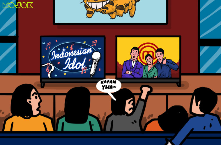 Kalau Indonesian Idol dan MasterChef Ratingnya Tinggi karena Settingannya, Kamu Mau Apa?