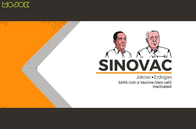 Sampai Erdogan Suntik Vaksin Sinovac pun Kamu Masih Tak Mau Percaya? Woy, Maumu Itu Apa?