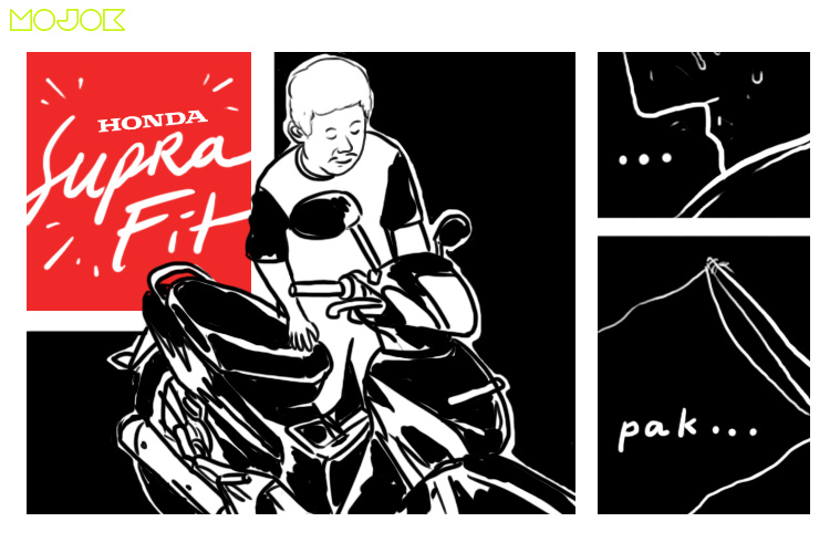 Honda Supra Fit X: Motor Termahal di Dunia, Motor Perjuangan Bersama Almarhum Bapak MOJOK.CO