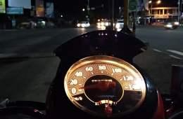 Ring road Yogyakarta menjadi tempat pelampiasan untuk melepas kesedihan