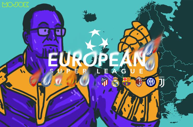 European Super League Karam! Seperti Seni Kintsugi, Indah tapi Tak Lagi Sempurna MOJOK.CO