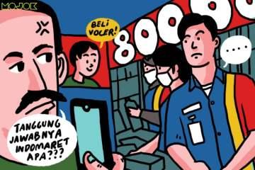 Protes ke Kasir Indomaret karena Anaknya Dibolehin Beli Voucher Game 800 ribu, Bapak-bapak Random Ini Malah Dibuli Netizen