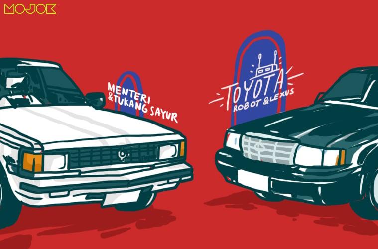 Toyota Crown Robot dan Lexus, Bisa Jadi Mobil Menteri Sekaligus Mobil Tukang Sayur MOJOK.CO