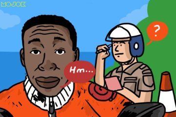 ilustrasi 5 Cara Paling Tidak Masuk Akal dalam Menghindari Tilang Polisi cum Cegatan Mudik mojok.co