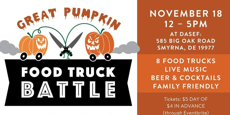 The Great Pumpkin Food Truck Battle 2017