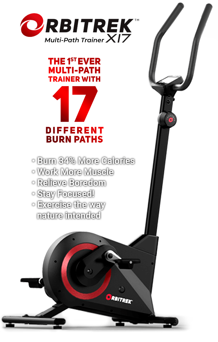 Orbitrek X17 Cross Trainer Elliptical