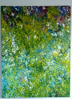 122 cm x 91cm Acrylic on canvas