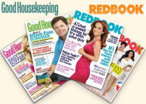 good housekeeping and redbook 300x214 Free Subscriptions to Martha Stewart Living, Redbook, Better Homes & Gardens And More!