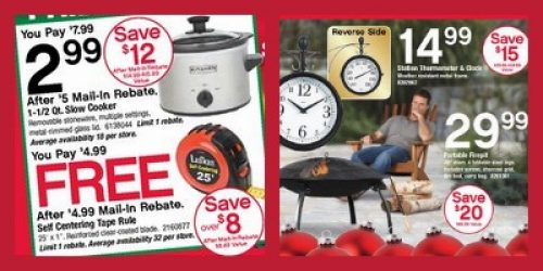 Black Friday Ad for Ace Hardware - Fire Pit for Only $29.99! on Ace Hardware Fire Pit  id=65060