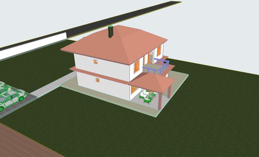 orjentacija kuće zbog kiše i vjetra