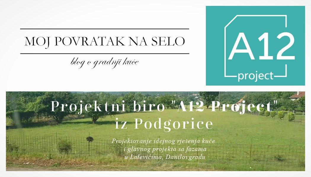 Arhitektonski biro PodgoricaA12 project