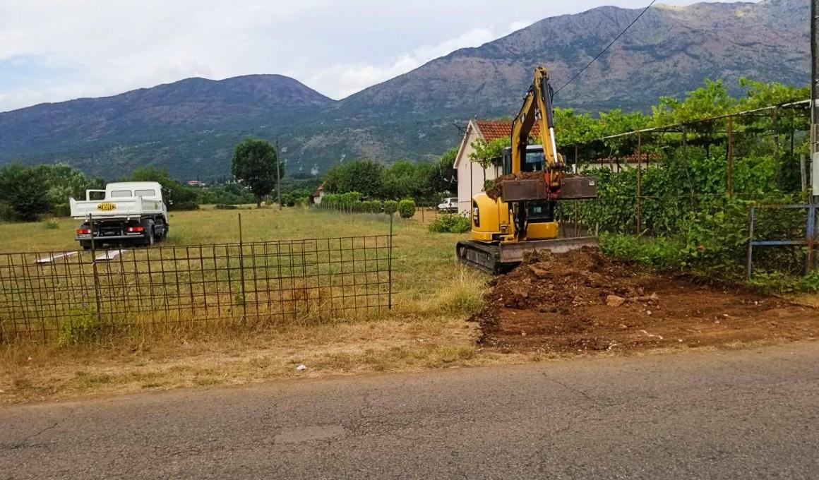 Zemljani radovi Trend inzenjering Podgorica