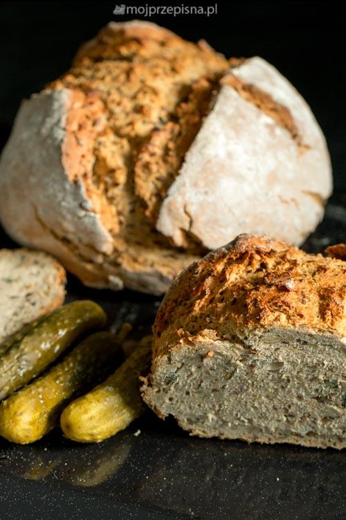Chleb z chrupiącą skórką