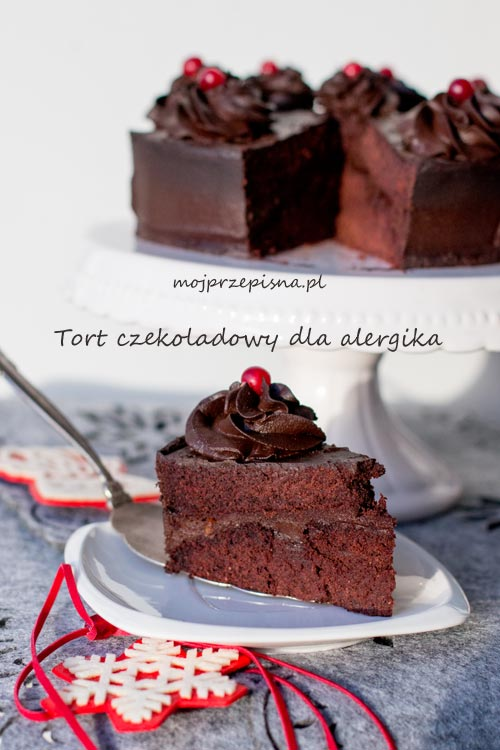 Tort czekoladowy dla alergika