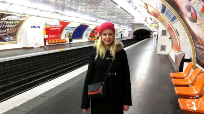 Mój Punkt Widzenia Blog - stacja metra we Francji, Paryż