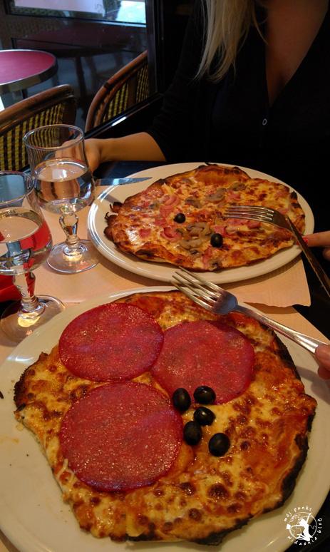 Mój Punkt Widzenia Blog - pizza w restauracji we Francji, Paryż