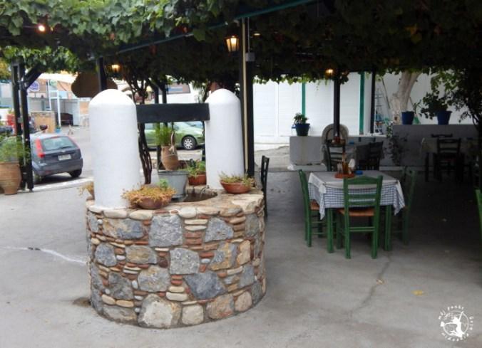 Mój Punkt Widzenia Blog - Wioska Zia, Taverna Oromedon, restauracja Grecja