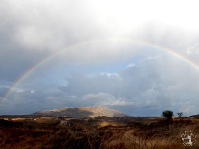 Mój Punkt Widzenia Blog - tęcza nad wyspą Kos. Grecja