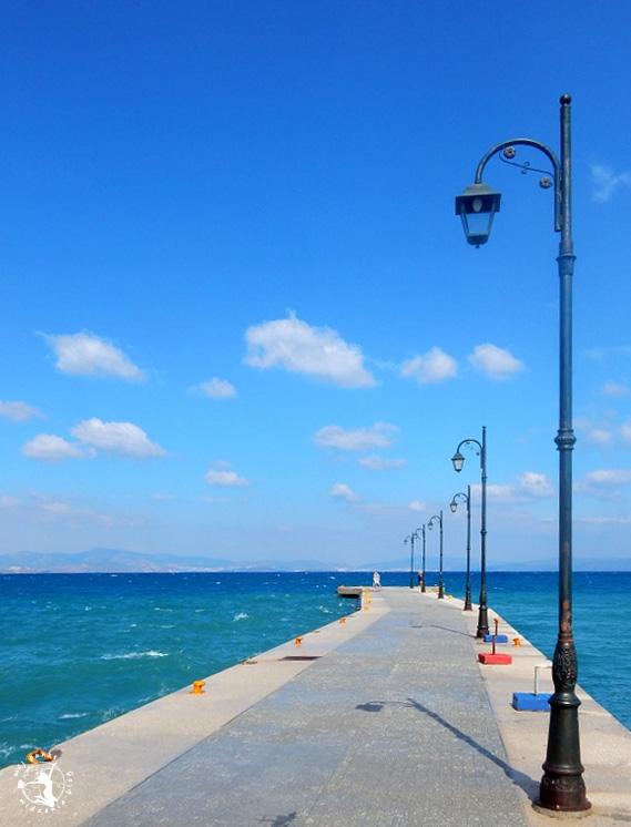 Mój Punkt Widzenia Blog - molo na greckiej wypie Kos