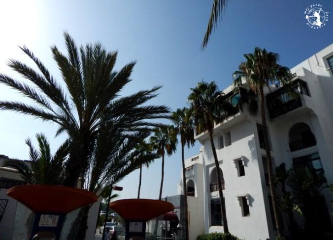 Mój Punkt Widzenia Blog - wejście do hotelu Agador, Maroko