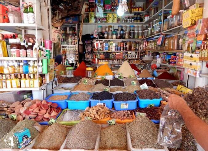 Mój Punkt Widzenia Blog - produkty na marokańskim targowisku