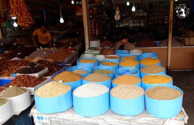 Mój Punkt Widzenia Blog - przy6prawy, orzechy i inne produkty na targu w Agadirze