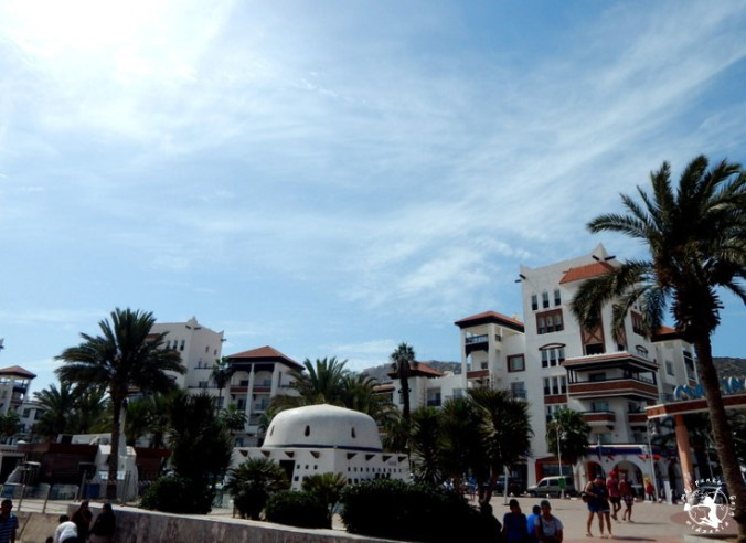 Mój Punkt Widzenia Blog - centrum miasta, deptak w Agadirze