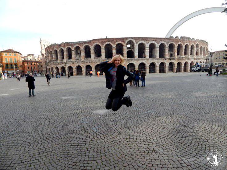 Mój Punkt Widzenia Blog - co trzeba zobaczyć w Weronie, atrakcje i skok we Włoszech