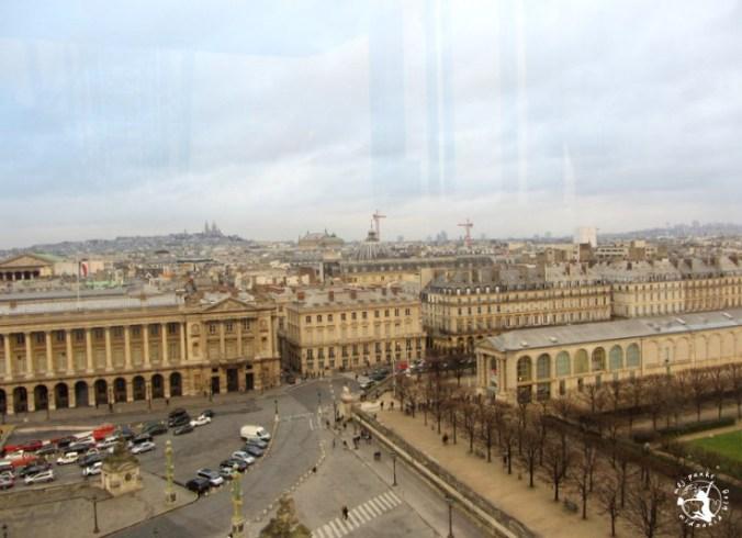 Mój Punkt Widzenia Blog - widok z karuzeli na Placu Zgody w Paryżu