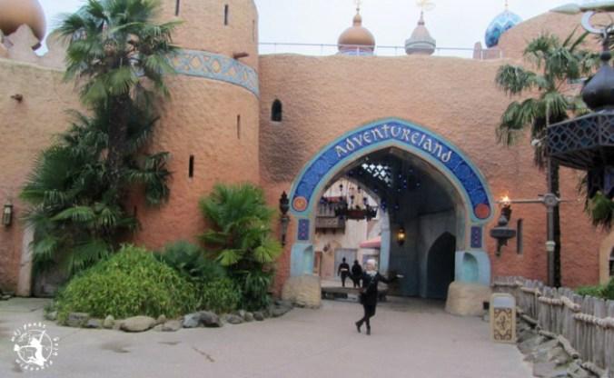 Mój Punkt Widzenia Blog - Adventureland, Disneyland we Francji