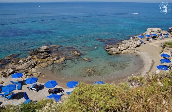 Wyspa Rodos - odpoczynek na plaży