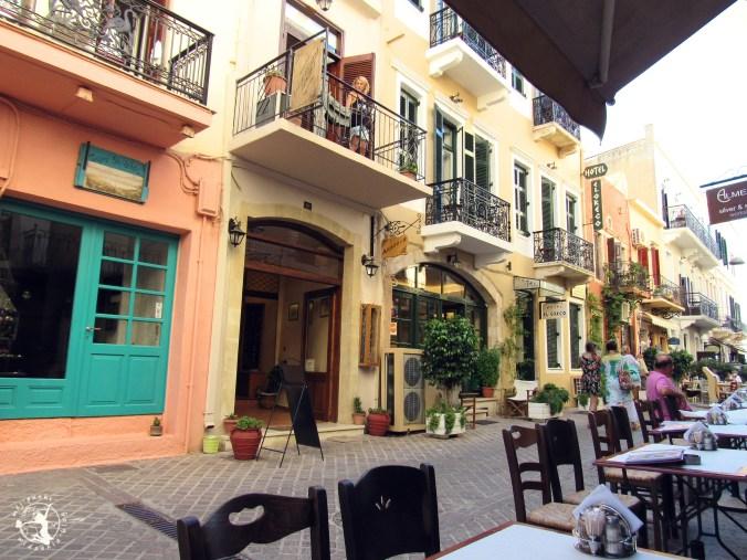 Mój Punkt Widzenia Blog - Malownicze uliczki greckiej Chanii, Kreta