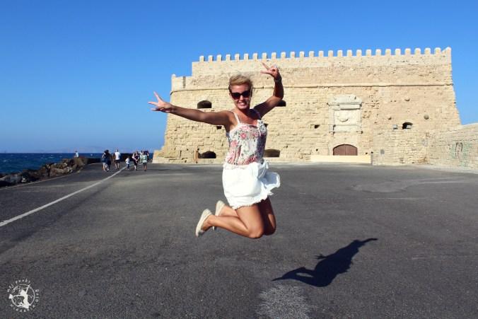 Mój Punkt Widzenia Blog - Skok w greckiej miejscowości Heraklion, Kreta