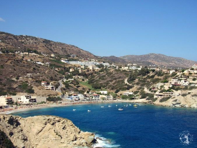 Mój Punkt Widzenia Blog – plaże na greckiej Krecie, żwirowo-kamienista Lygaria