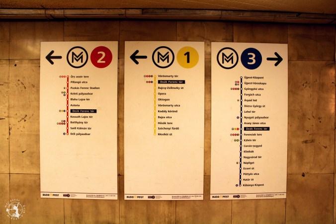 Mój punkt widzenia blog - informacje o Budapeszcie, rozkład jazy metra