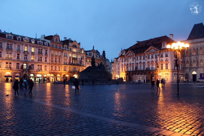 Mój Punkt Widzenia - stare miasto, spacer po Pradze