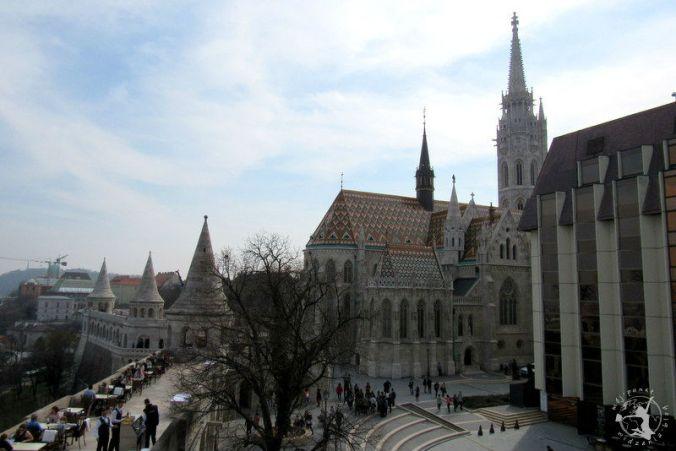 Mój Punkt Widzenia Blog - Baszta Rybacka i Kościół Macieja