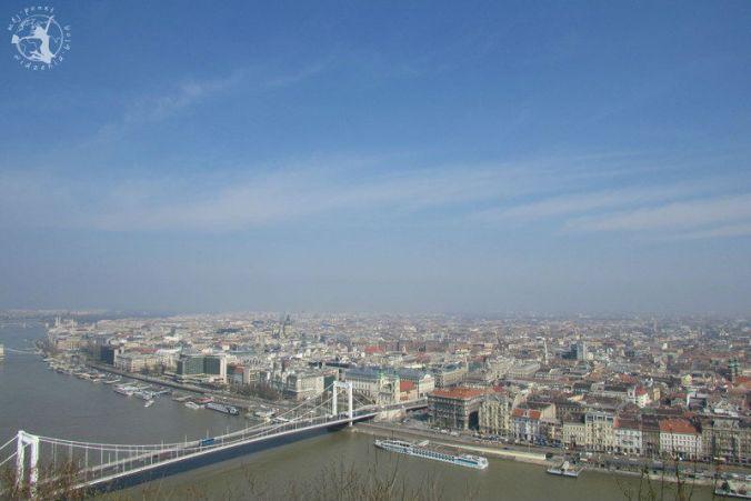 Mój Punkt Widzenia Blog - wzgórze Gellerta, Budapeszt