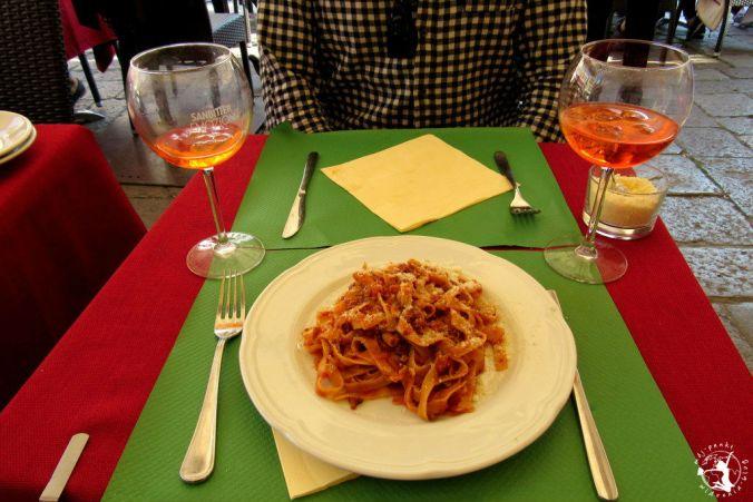 Mój Punkt Widzenia Blog - pasta włoska w restauracji